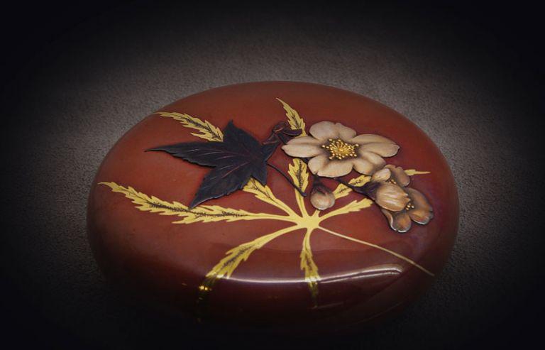 Kogo(incense box) in mixed alloys