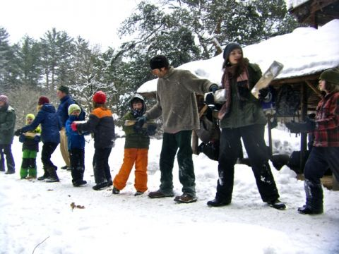 Winter community day photo: Angella Gibbons